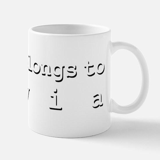 My Heart Belongs To Elvia Mug