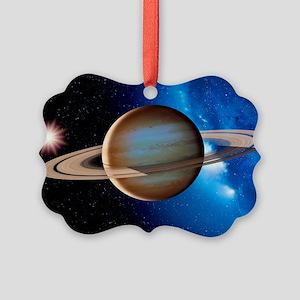 Saturn Picture Ornament