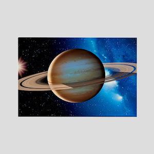Saturn Rectangle Magnet