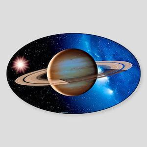 Saturn Sticker (Oval)