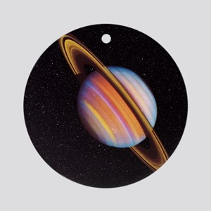 Saturn Round Ornament