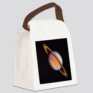 Saturn Canvas Lunch Bag