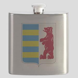 Rusyn Emblem (car flag) Flask