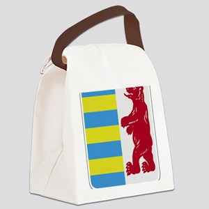 Rusyn Emblem (car flag) Canvas Lunch Bag