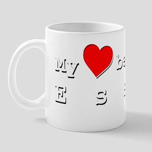 My Heart Belongs To Essie Mug