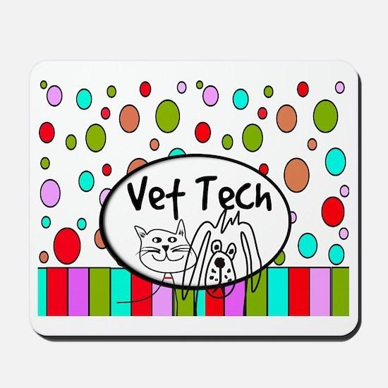 Vet Tech Tote 2 Mousepad
