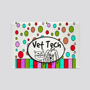 Vet Tech Tote 2 Rectangle Magnet
