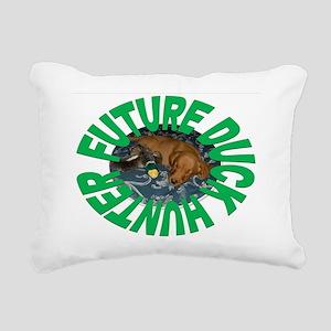 FUTURE DUCK HUNTER Rectangular Canvas Pillow