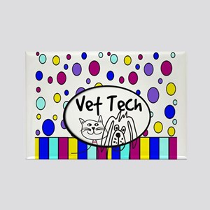 Vet Tech Tote 1 Rectangle Magnet