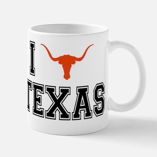 I heart Texas Mug