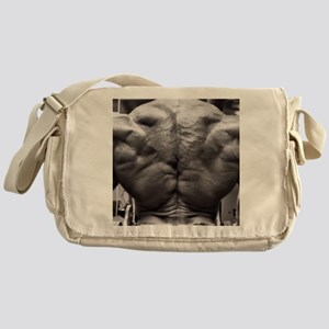BODYBUILDING BACK Messenger Bag