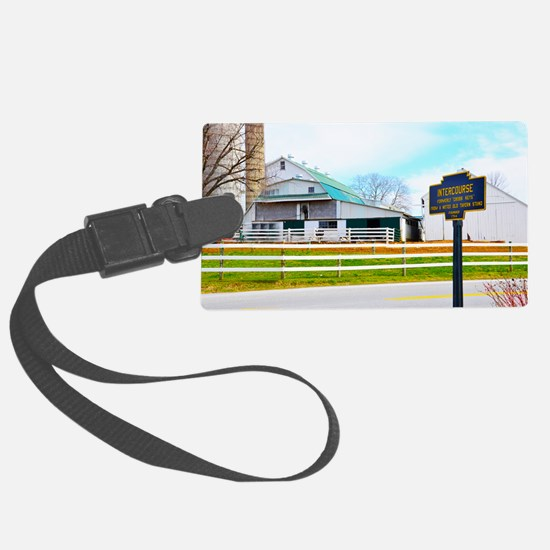 Intercourse, Pa. town sign Luggage Tag