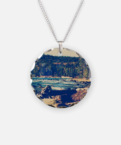 Rocky Shores of Lake Superio Necklace
