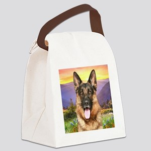 meadow(button) Canvas Lunch Bag