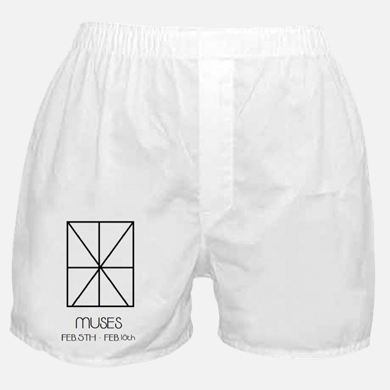 Muses Asterian astrology Boxer Shorts