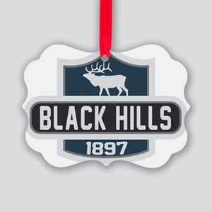 Black Hills Nature Badge Picture Ornament