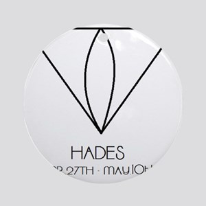 Hades Asterian astrology Round Ornament