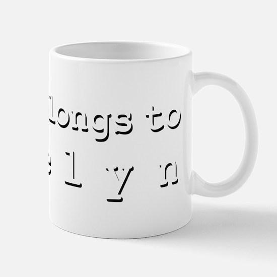 My Heart Belongs To Joselyn Mug