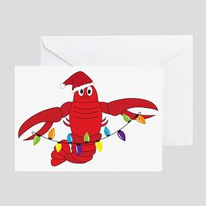 Sandy Claws Greeting Card