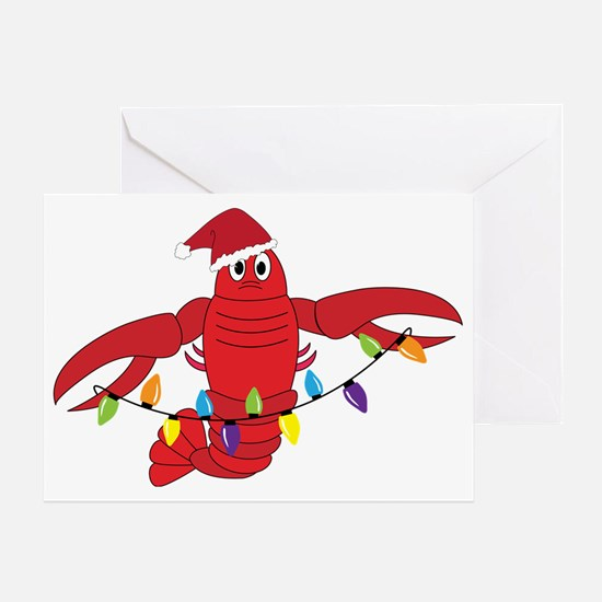 Sandy Claws Greeting Card