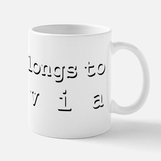 My Heart Belongs To Sylvia Mug
