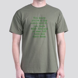 600+ subro files Dark T-Shirt