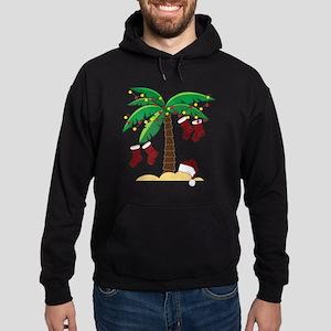 Tropical Christmas Hoodie (dark)