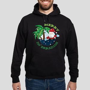 Merry In Paradise Hoodie (dark)