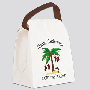 From The Islands Canvas Lunch Bag