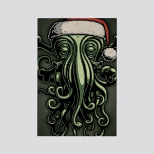 cthulhu-claus-JRNL Rectangle Magnet
