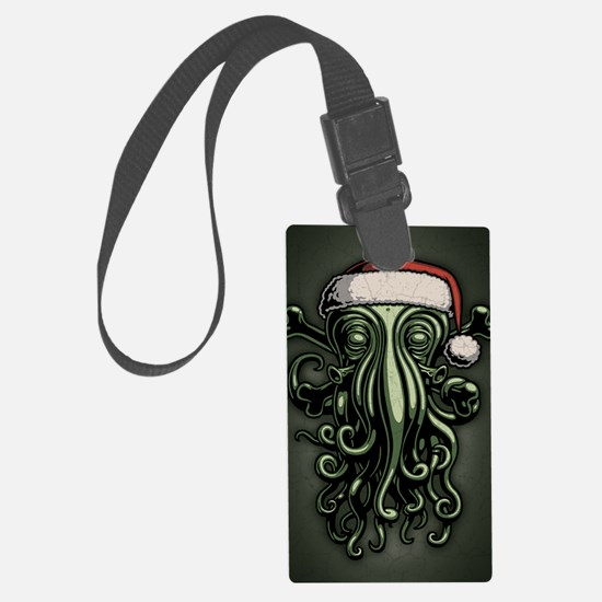 cthulhu-claus-JRNL Luggage Tag
