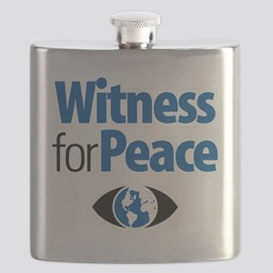 Witness for Peace logo Flask