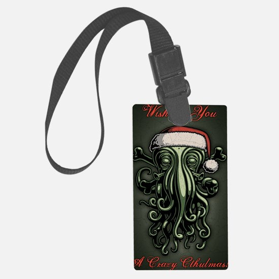 cthulhu-claus-CRD Luggage Tag