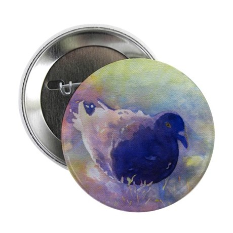 """Easter Egg Pigeon 2.25"""" Button"""