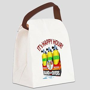 Scuba Happy Hour Canvas Lunch Bag