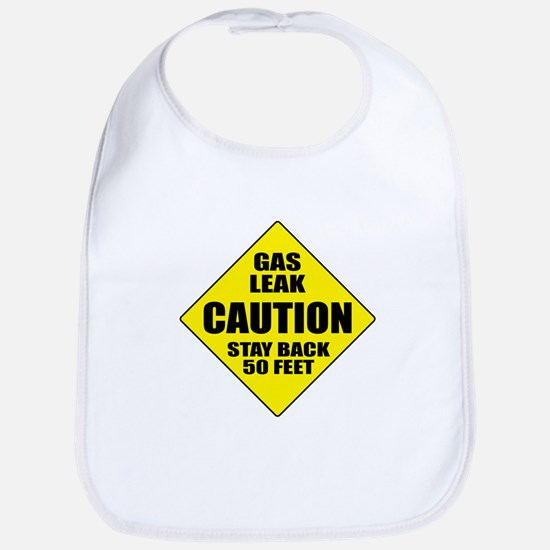 Caution: Gas Leak Bib