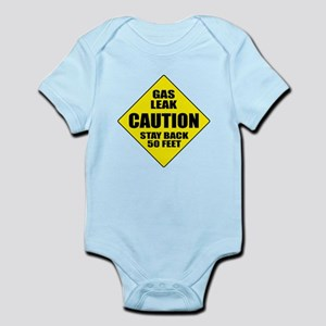 Caution: Gas Leak Body Suit