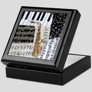 0555-ipad-sax Keepsake Box