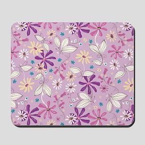 FlowerBotanical_Lilac_Large Mousepad
