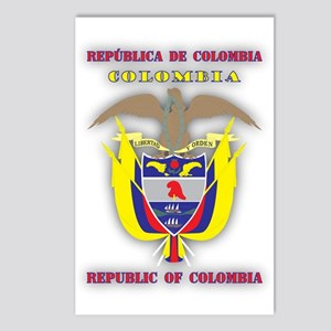 Colombia products v1 Postcards (Package of 8)
