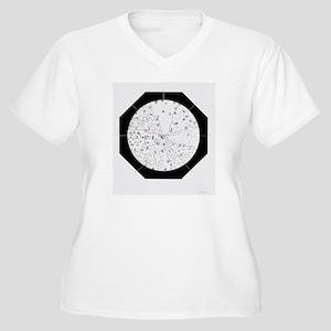 Pasteur's art of  Women's Plus Size V-Neck T-Shirt