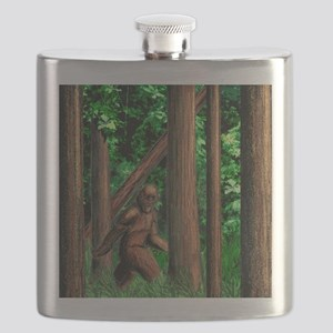 bigfoot walking Flask