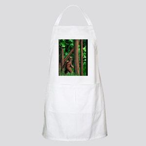 bigfoot walking Apron