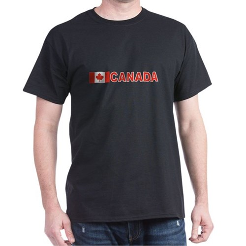 Canada Flag (Dark) T-Shirt