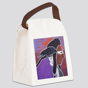 Two Crows Canvas Lunch Bag