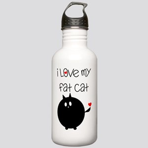 Fat Cat Love Stainless Water Bottle 1.0L