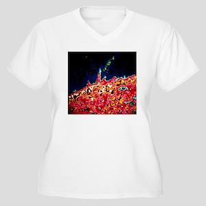Skylab combined X Women's Plus Size V-Neck T-Shirt
