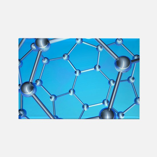 Buckminsterfullerene Rectangle Magnet