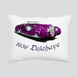 1939 Delahaye Rectangular Canvas Pillow