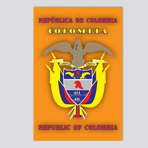 Colombia Products v2 Postcards (Package of 8)